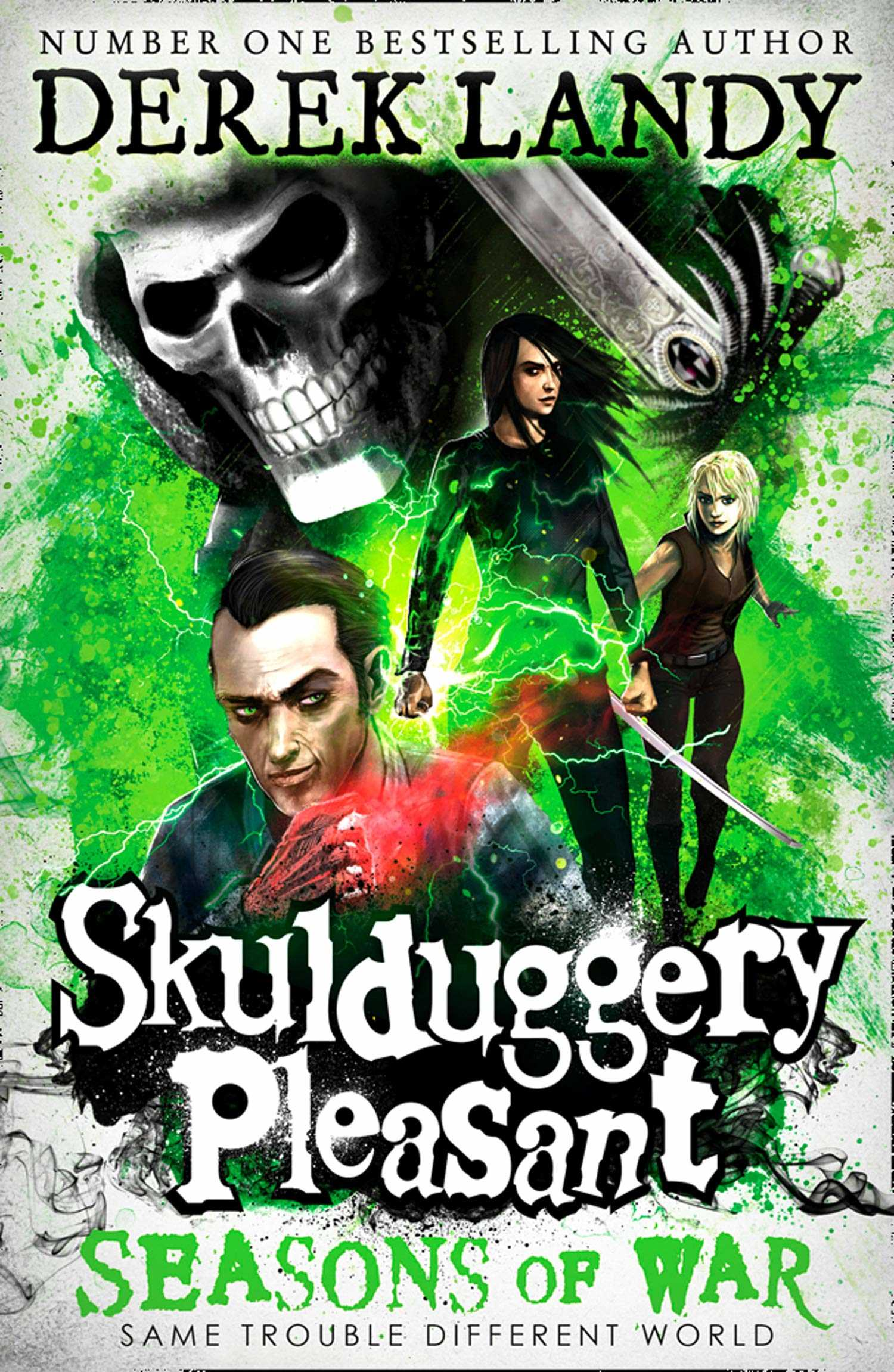 Skulduggery Pleasant: Seasons of War