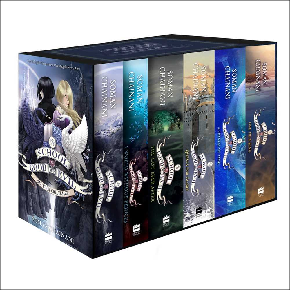 The School for Good and Evil 6-Book Box Set (Books 1-6)