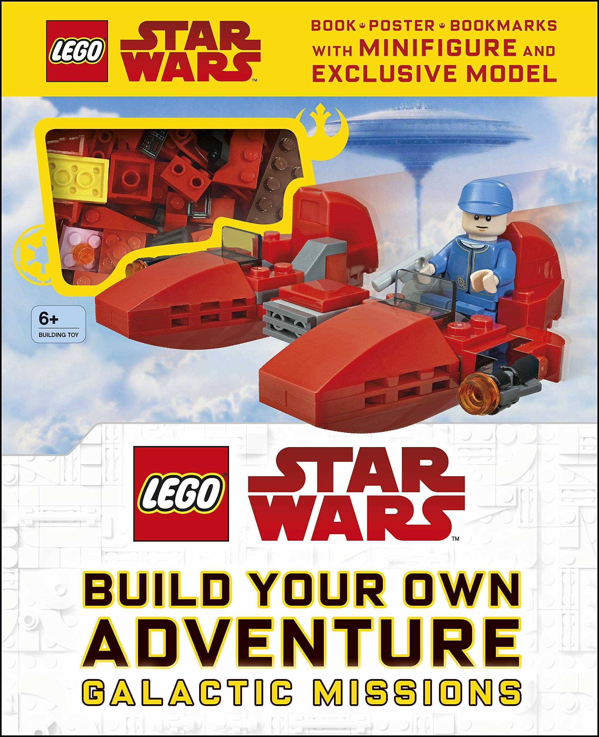 LEGO Star Wars Build Your Own Adventure Galactic Missions (with LEGO Star Wars Minifigure and Exclusive Model)