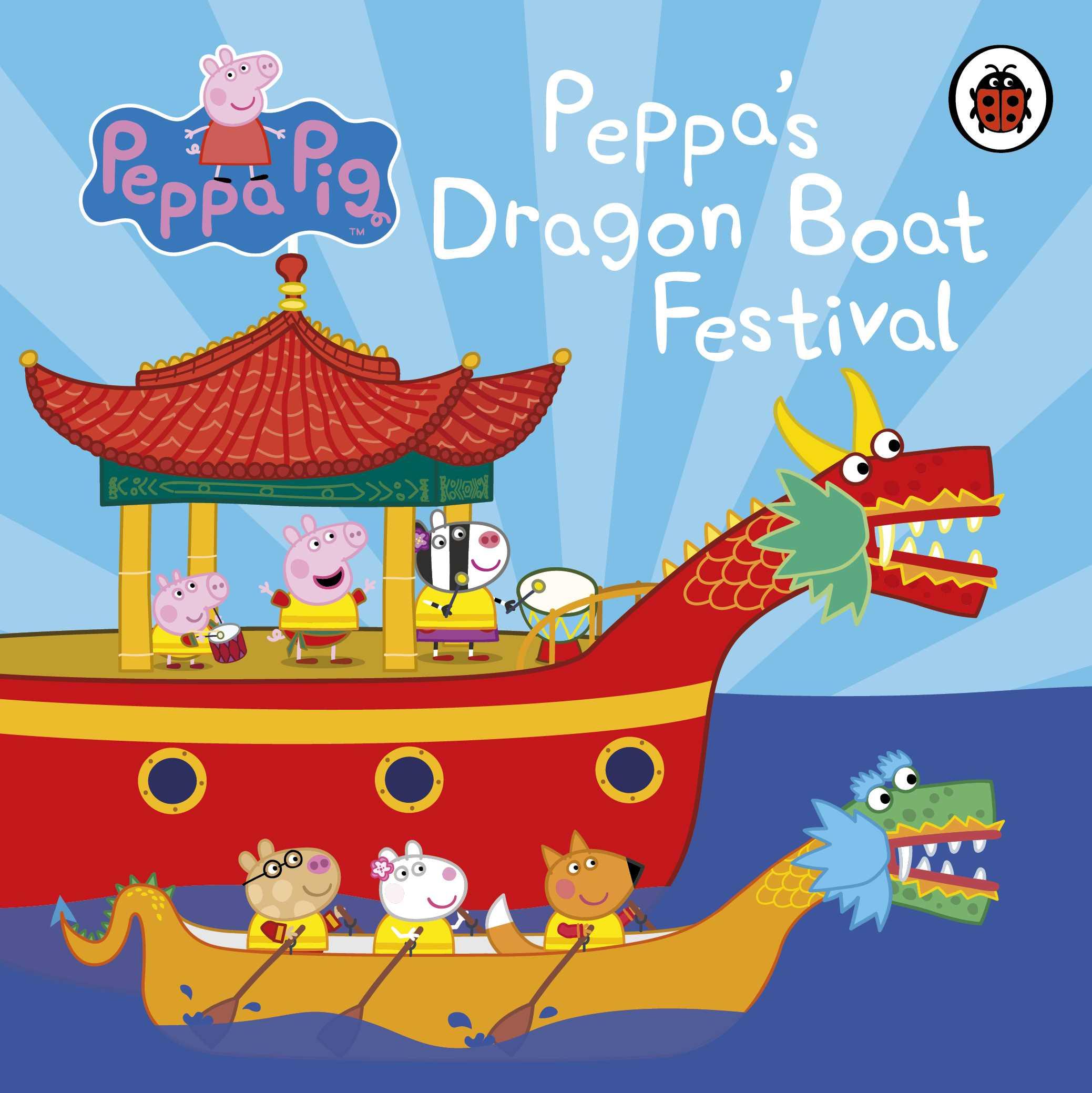 Peppa's Dragon Boat Race