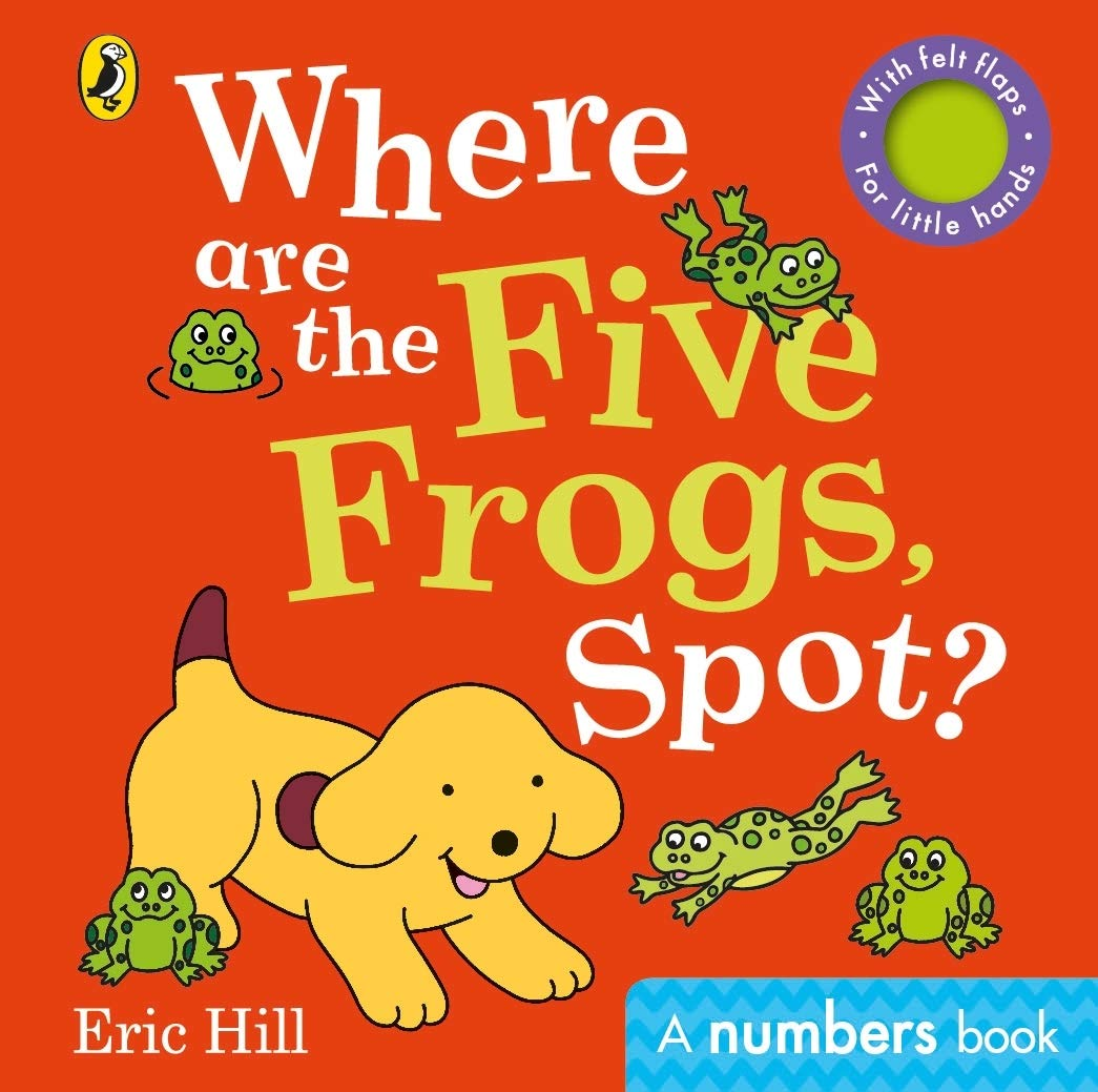 Where are the Five Frogs, Spot?
