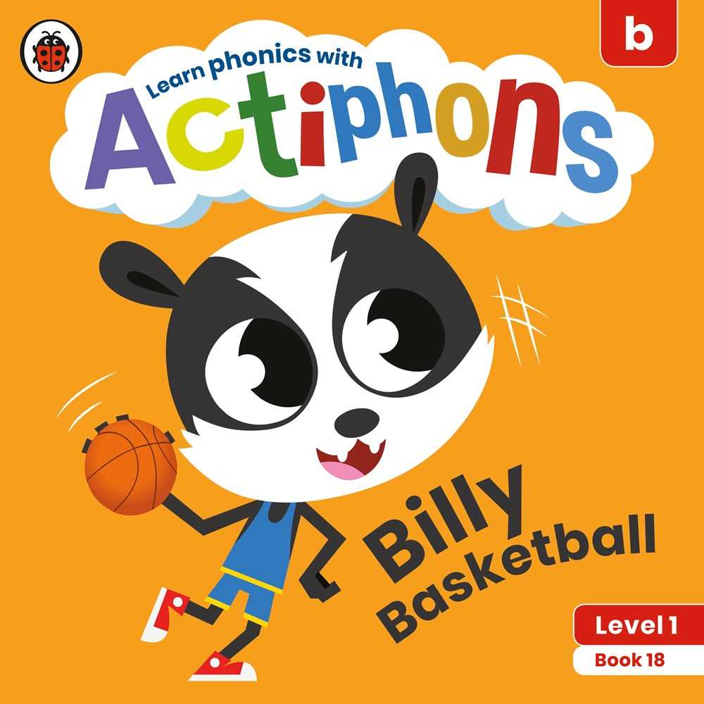 Actiphons Level 1 Book #18 Billy Basketball