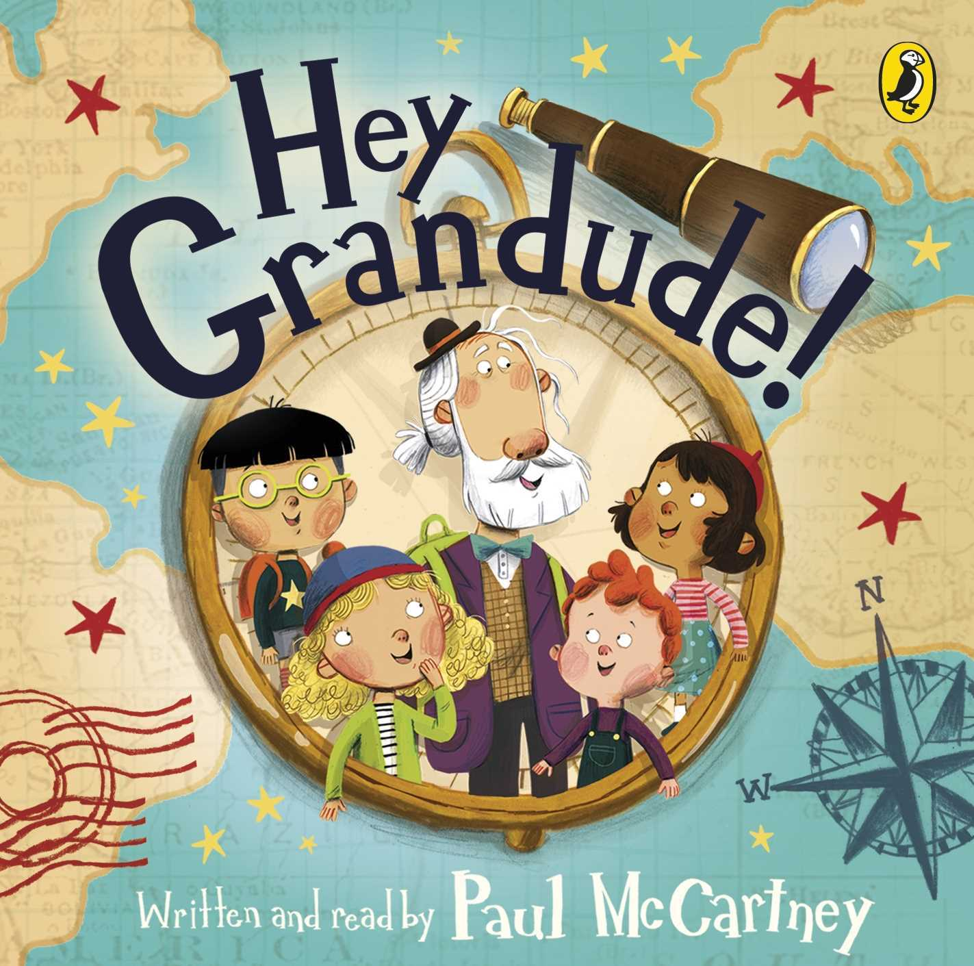 Hey Grandude! (CD Audiobook)