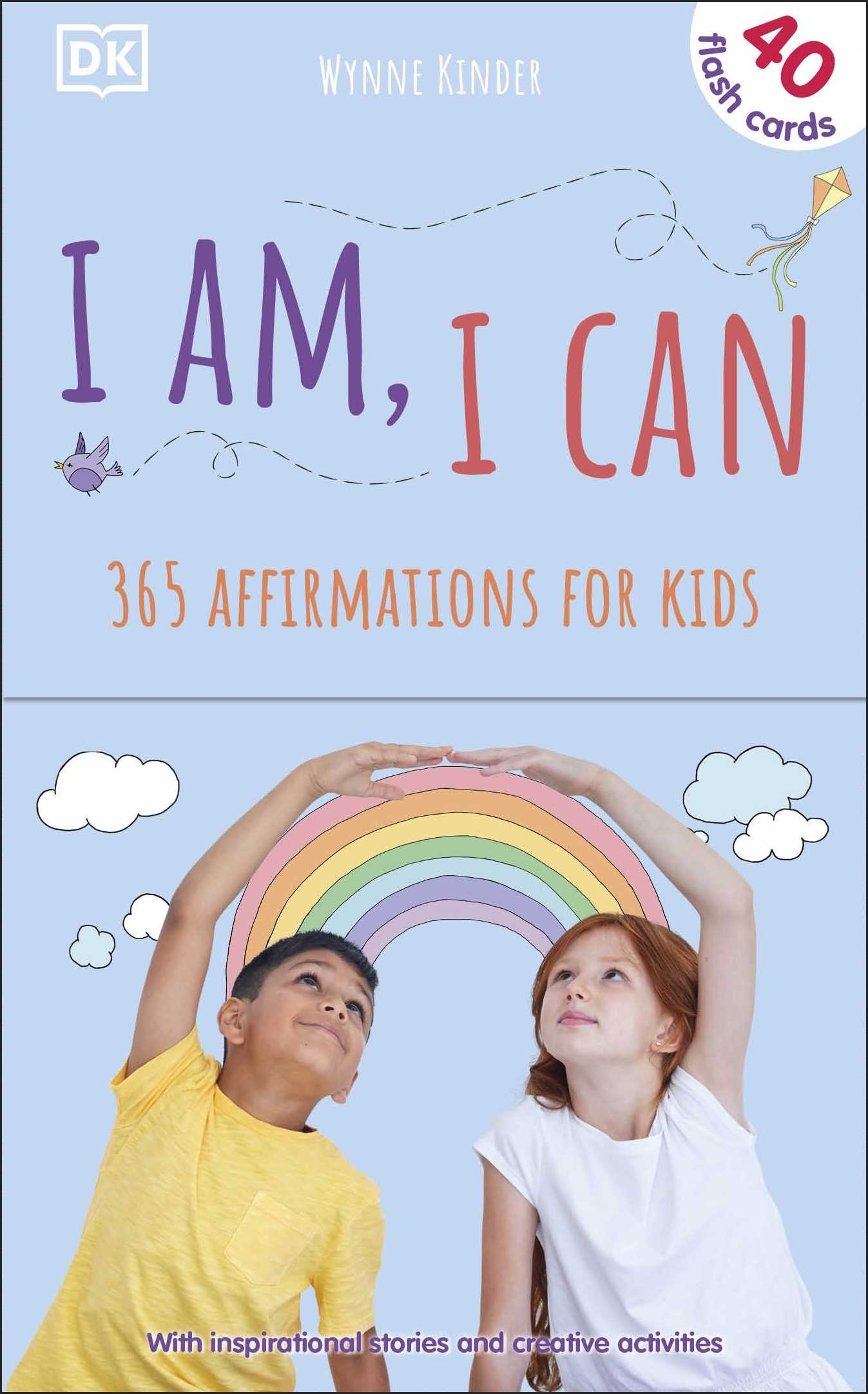 I Am, I Can: Affirmations Flash Cards for Kids