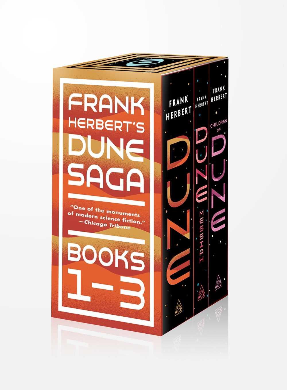 Frank Herbert's Dune Saga 3-Book Boxed Set