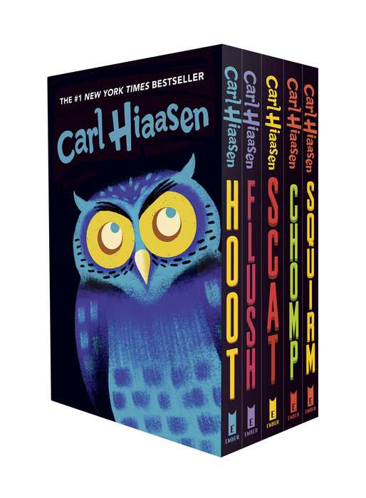 Hiaasen 5-Book Trade Paperback Boxed Set