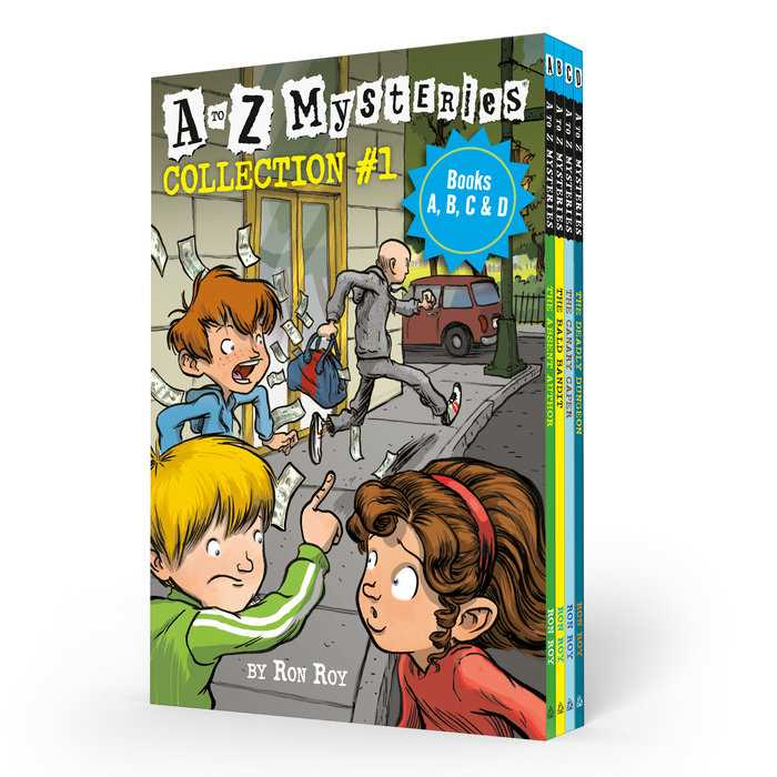 A to Z Mysteries Boxed Set Collection #01 (Books A, B, C, & D)