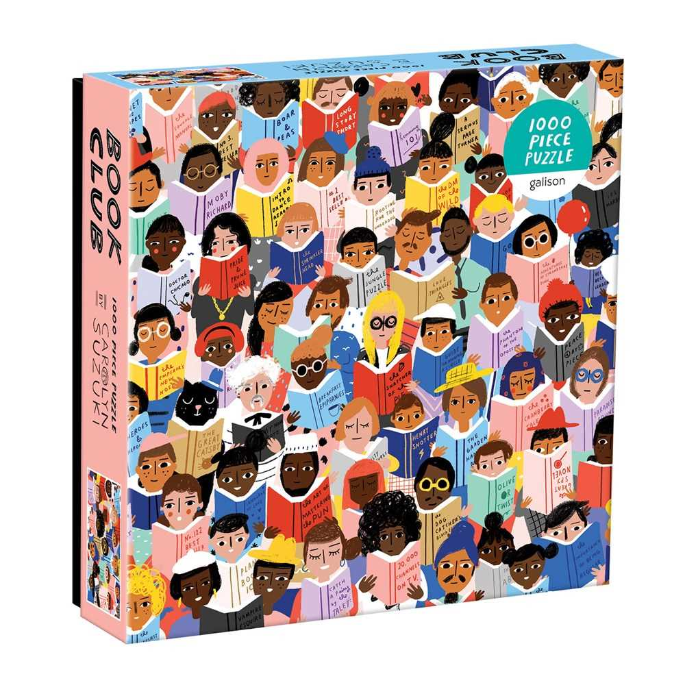 Book Club 1000 Piece Puzzle In a Square Box