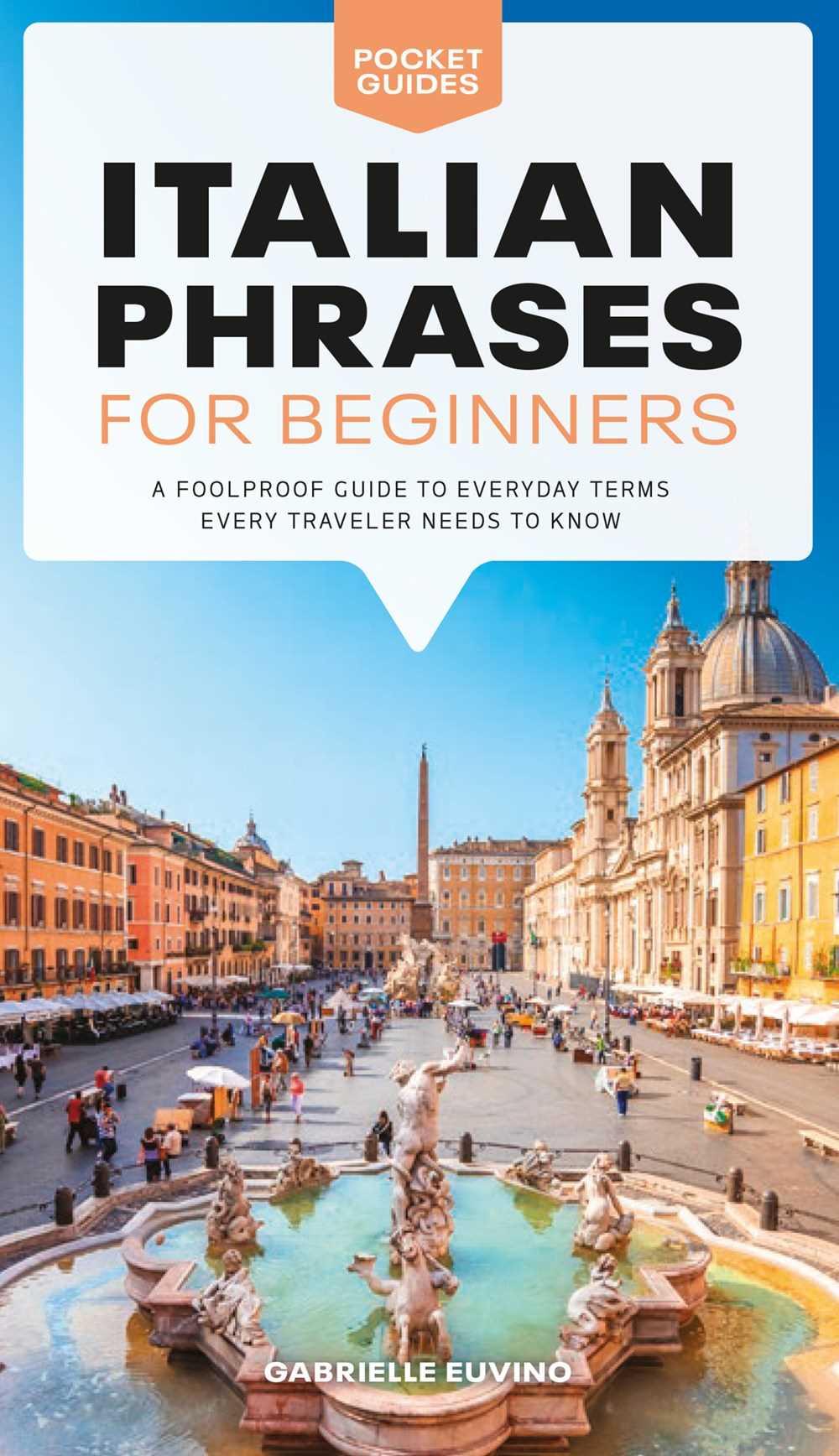 Pocket Guides: Italian Phrases for Beginners