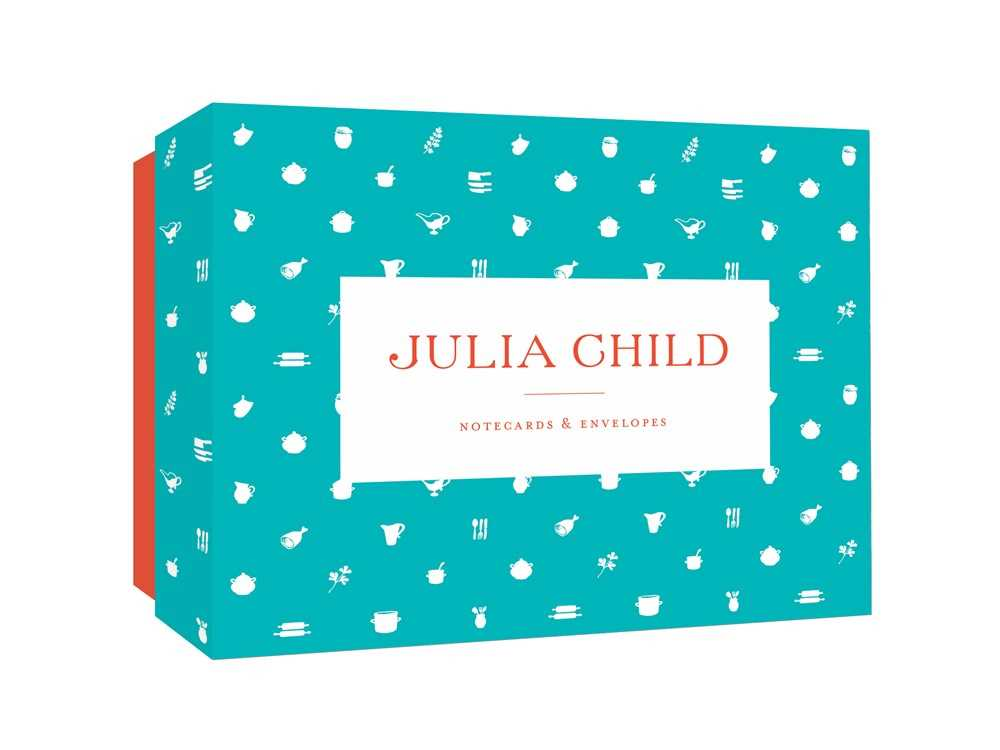 Julia Child Notecards