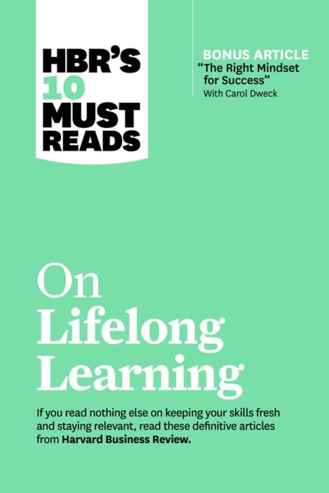 HBR's 10 Must Reads on Lifelong Learning