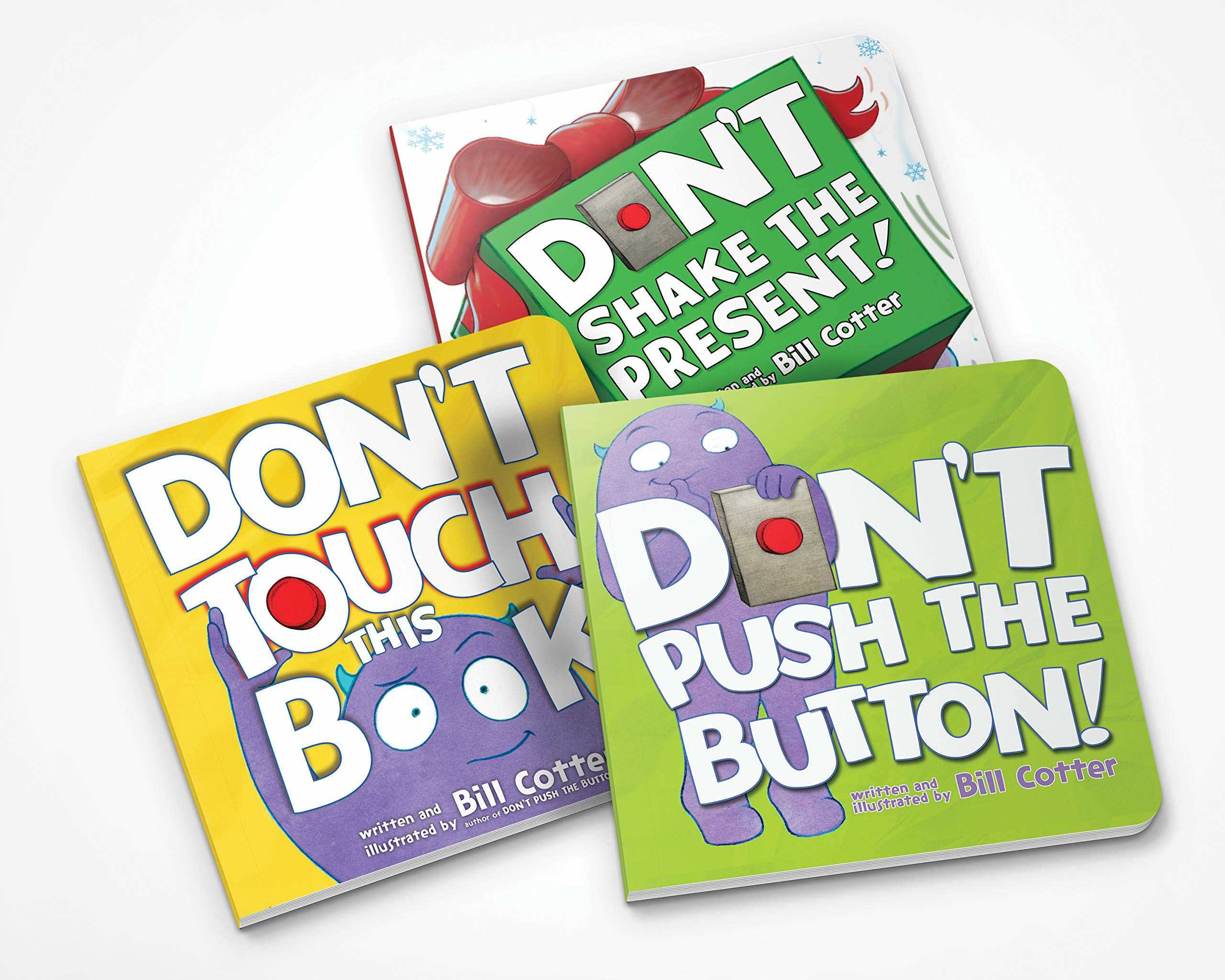 Don't Push the Button Gift Set