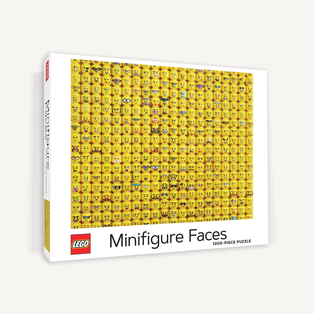 LEGO® Minifigure Faces Puzzle
