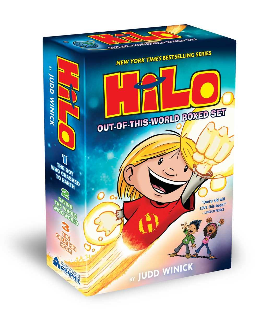 Hilo: Out-of-This-World Boxed Set (Books 1-3)