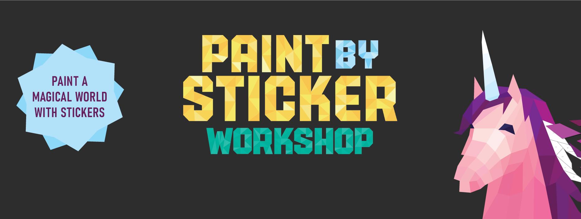 Paint by Sticker Workshop